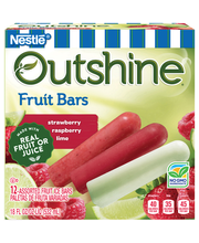OUTSHINE Strawberry, Lime & Raspberry Fruit Bars Variety Pack...