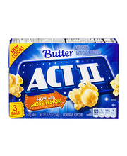 Act II® Butter Microwave Popcorn 3-78g Bags