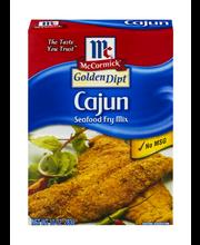 McCormick® Golden Dipt® Cajun Seafood Fry Mix 10 oz. Box