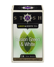 Stash Fusion Green & White Tea Bags 18 Ct Box