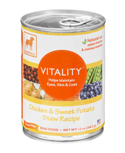 Dogswell Vitality Chicken & Sweet Potato Stew Recipe Dog Food