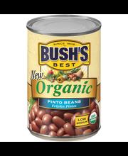Bush's Best® Organic Pinto Beans 15 oz. Can