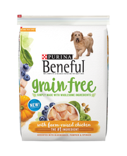 Purina Beneful Grain Free with Farm-Raised Chicken Dog Food 1...