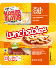 Lunchables Extra Cheesy Pizza Lunch Combination 4.2 oz. Tray