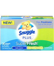 Snuggle® Plus SuperFresh™ EverFresh Scent Fabric Softener Dry...