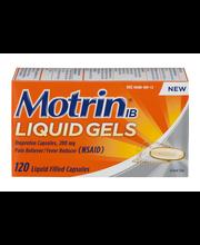 Motrin® IB Liquid Gels Ibuprofen Pain Reliever/ Fever Reducer...