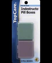 TOPCARE PILL BOX INDESTRUCTO