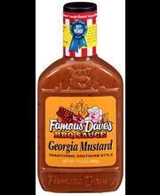 Famous Dave's® Georgia Mustard BBQ Sauce 17.5 oz. Bottle