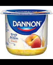 Brand Dannon® Fruit on the Bottom Lowfat Yogurt Peach 6oz Sin...