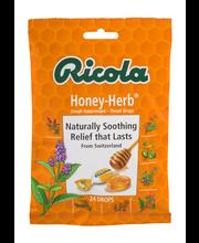 Ricola Honey-Herb® Cough Suppressant Throat Drops 24 ct Bag