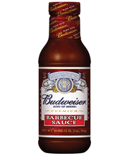 Budweiser® Sauces  Barbecue Sauce 18 oz. Bottle