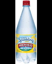 ARROWHEAD Brand Sparkling Mountain Spring Water, Lemon 33.8-o...