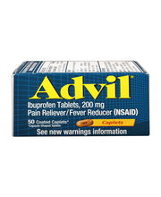Advil® Pain Reliever/Fever Reducer (Ibuprofen) 200mg 50 ct Box