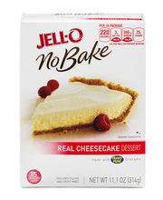 Jell-O® No Bake Real Cheesecake Dessert Kit 11.1 oz. Box