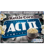 Act II® Kettle Corn Microwave Popcorn 3-78g Bags