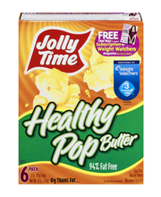Jolly Time® Healthy Pop Butter Microwave Popcorn 6-3 oz. Bags