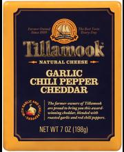 Tillamook® Garlic Chili Pepper Cheddar Natural Cheese 7 oz. Pack