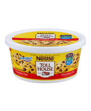 Nestle TOLL HOUSE Chocolate Chip Cookie Dough 36 oz. Tub