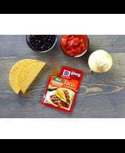 McCormick® Taco Seasoning, Mild and Less Sodium, 1 oz. Packet