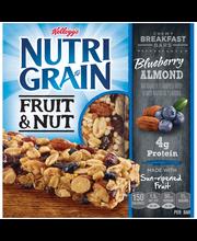 Kellogg's® Nutri-Grain® Fruit & Nut Blueberry Almond Chewy Br...