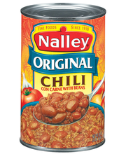 Nalley Original Con Carne W/Beans Chili 40 Oz Can