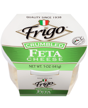 Frigo® Crumbled Feta Cheese 5 oz. Tub