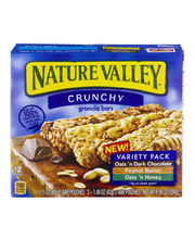 Nature Valley™ Crunchy Granola Bars Variety Pack 6-2 ct Pouches