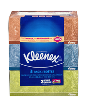 Kleenex® Everyday 2-ply White Facial Tissues 3-160 Ct Boxes