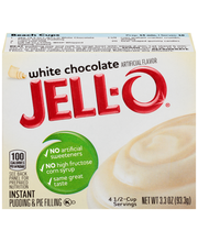 Jell-O® White Chocolate Instant Pudding & Pie Filling Mix 3.3...