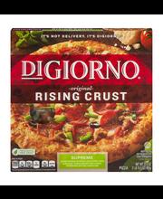 DIGIORNO Original Rising Crust Supreme Frozen Pizza 31.5 oz. Box