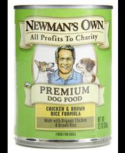Dog Food, Premium, Chicken & Brown Rice Formula