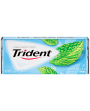 Trident Mint Bliss Sugar Free Gum with Xylitol 18 Stick Pack