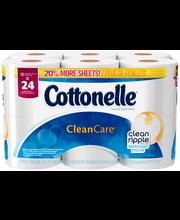 Cottonelle® Cleancare® Toilet Paper 12 Ct Pack