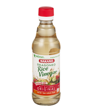 Nakano® Seasoned Original Rice Vinegar 12 fl. oz. Glass Bottle