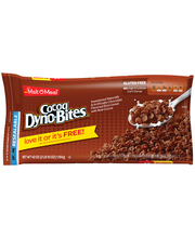 Malt-O-Meal® Cocoa Dyno-Bites® Cereal 42 oz. ZIP PAK®