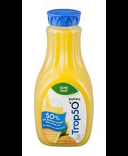 Tropicana® Trop50® Some Pulp Orange Juice 59 fl. oz. Bottle