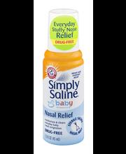 Arm & Hammer™ Simply Saline™ Sesame Street® Nasal Relief Baby...