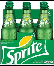 Sprite Lemon-Lime Soda 6 pk, 8 oz Glass Bottles