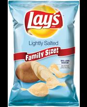 Lay's® Lightly Salted Potato Chips 9.75 oz. Bag