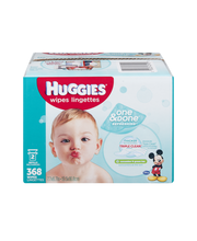 Huggies® One & Done® Refreshing Cucumber & Green Tea Baby Wip...