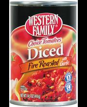 Wf Tomatoes Rstd Dicd W/Garlic