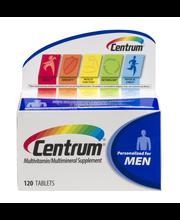 Centrum® Men Multivitamin/Multimineral Supplement Tablets 120...