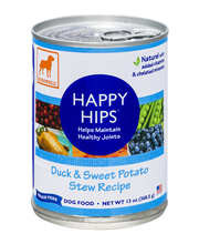 Dogswell Happy Hips Duck & Sweet Potato Stew Recipe Dog Food