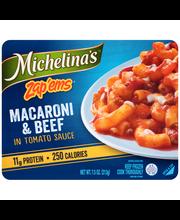 Michelina's® Zap'Ems® Macaroni & Beef in Tomato Sauce 7.5 oz....