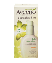 Aveeno® Active Naturals® Positively Radiant® Daily Moisturize...
