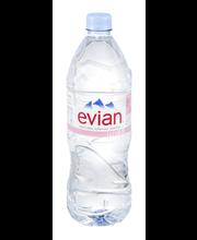 Evian® Natural Spring Water 1L Bottle