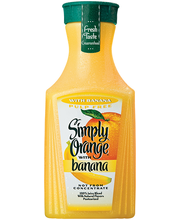 Simply Orange® Pulp Free Juice with Banana 59 fl. oz. Bottle