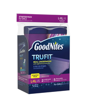 GoodNites® Tru-Fit Real Underwear Starter Pack L/XL for Girls