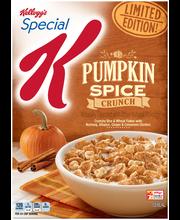 Kellogg's® Special K® Pumpkin Spice Crunch Cereal 12.4 oz. Box