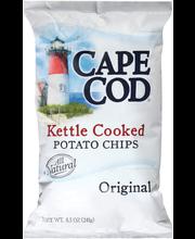 Cape Cod Kettle Cooked Original Potato Chips 8.5 Oz Bag